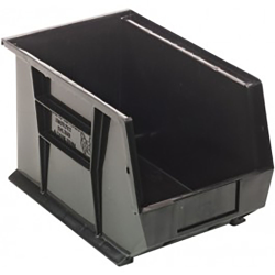 "Black Quantum® Ultra Series Recycled Stack & Hang Bin - 13-5/8"" L x 8-1/4"" W x 8"" Hgt."