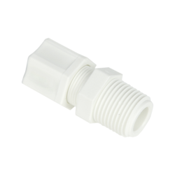 "1/4"" OD Tube x 1/8"" MPT Nylon Male Connector"