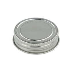 38/400 Metal Tin Cap with .040 PE Liner