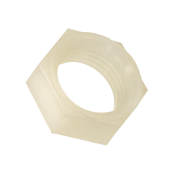 "Nylon 11/16"" UN Hex Lock Nut"