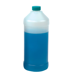 16 oz. Natural Hydrocarbon Barrier Bottle with 28mm Cap