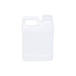 16 oz. White F-Style Jug with 33/400 Plain Cap with F217 Liner