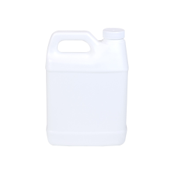 32 oz. White F-Style Jug with 33/400 Plain Cap