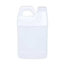 64 oz. White F-Style Jug with 38/400 Plain Cap with F217 Liner