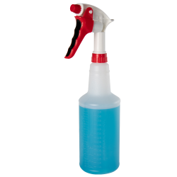 32 oz. Spray Bottle with Red & White Sprayer