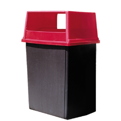 Rubbermaid® Square Trash Containers