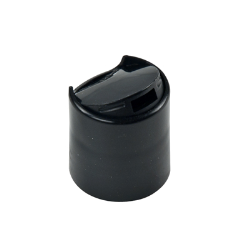 24/410 Silver & Black Disc Dispensing Cap