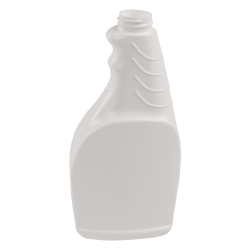 16 oz. White Fabric Bottle 28/400 Neck (Sprayer or Cap Sold Separately)