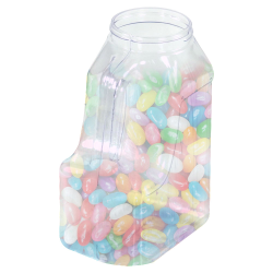 32 oz. Multi-Use Clear PVC Container with Handle & 63/400 Neck  (Cap Sold Separately)