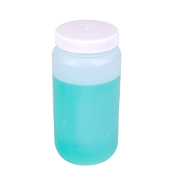 1/2 Gallon Nalgene™ HDPE Wide Mouth Bottle with 100mm Cap