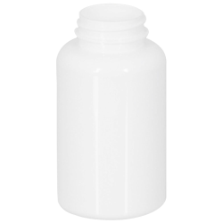 200cc White PET Packer Bottle with 38/400 Neck (Cap Sold Separately)