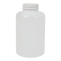 950cc White PET Packer Bottle with 53/400 Neck (Cap Sold Separately)