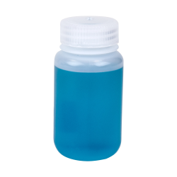 4 oz./125mL Nalgene™ Wide Mouth Economy HDPE Bottle with 38mm Cap