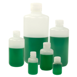 Thermo Scientific™ Nalgene™ Narrow Mouth Economy HDPE Bottles with Caps