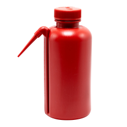 500mL Nalgene™ Unitary™ Red Wash Bottle