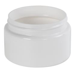 6 oz. White PET Low Profile Jar with 70/400 Neck