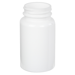 175cc White PET Packer Bottle with 38/400 Neck