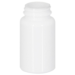 120cc White PET Packer Bottle with 38/400 Neck (Cap Sold Separately)