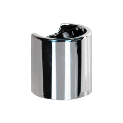 20/410 Silver & Black Disc Dispensing Cap