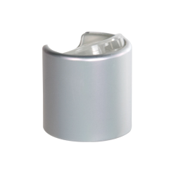 24/410 Brushed Aluminum & Natural Disc Dispensing Cap