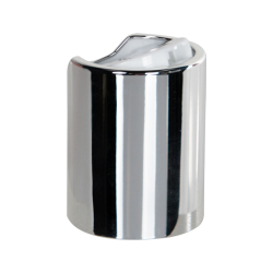 24/415 Silver & White Disc Dispensing Cap