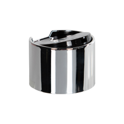 28/410 Silver & Black Disc Dispensing Cap