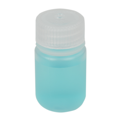 1 oz./30mL Nalgene™ Lab Quality Wide Mouth Polypropylene Bottle with 28mm Cap