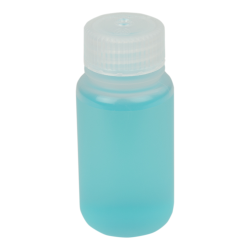 2 oz./60mL Nalgene™ Lab Quality Wide Mouth Polypropylene Bottle with 28mm Cap