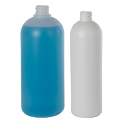 HDPE White Cosmo Bottle