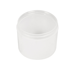 4 oz. Polypropylene Straight Sided Thick Walled Natural Jar with 70/400 Neck (Cap Sold Separately)