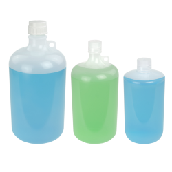 Thermo Scientific™ Nalgene™ Large Narrow Mouth Polypropylene Bottles with Caps