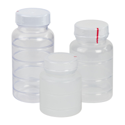 Rigid Tamper Evident Bottles with Caps