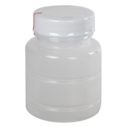 2 oz. Polypropylene Bottle with Clear TE Band