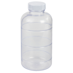 16 oz. ABS Bottle with Clear Tamper Evident Band