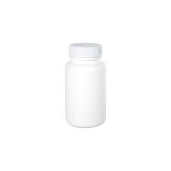 4 oz./120cc White HDPE Wide Mouth Packer with 38/400 Plain Cap