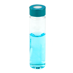 2/3 oz. Glass Vial with PP Hole Cap
