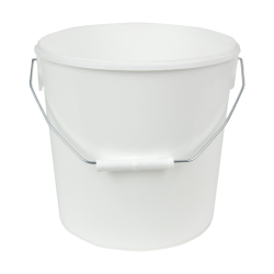 273 oz. White Flex Off Container with Handle (Lid Sold Separately)
