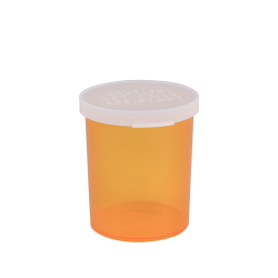 20 Dram Amber Polypropylene Snap Cap Vials