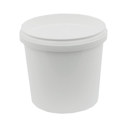 24 oz. White Safe Lock Container (Lid Sold Separately)