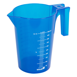 500mL Blue Polypropylene Graduated Stackable Pitcher