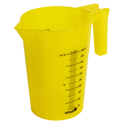 500mL Yellow Polypropylene Graduated Stackable Pitcher