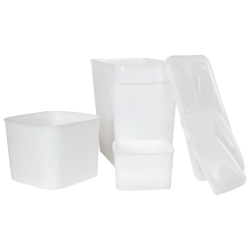 StorPlus™ HDPE Space-Saver Storage Containers
