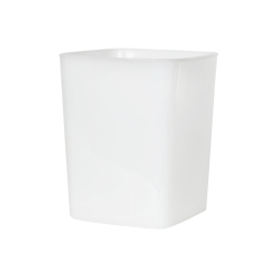 4 Quart HDPE Space-Saver Storage Container (Lid Sold Separately)