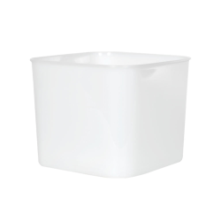 6 Quart HDPE Space-Saver Storage Container (Lid Sold Separately)