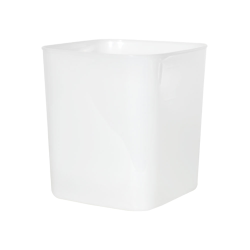 8 Quart HDPE Space-Saver Storage Container (Lid Sold Separately)