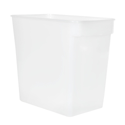 18 Quart HDPE Space-Saver Storage Container (Lid Sold Separately)
