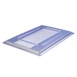 "Blue StorPlus™ Color-Coded Food Storage Lid 12"" x 18"""