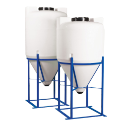 Metal Tank Stand for 200, 250, 300 & 350 Gallon Tamco® Cone Bottom Tanks
