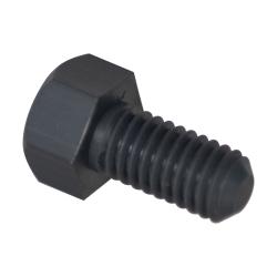 "3/8-16 Thread - 2"" PVC-1 Hex Head Cap Screws"