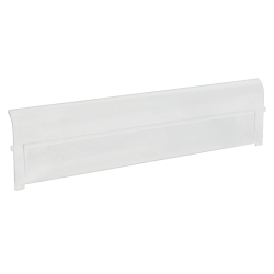 "Clear Window for 19-3/4"" L x 12-3/8"" W x 5-7/8"" Hgt. Quantum® Bins"